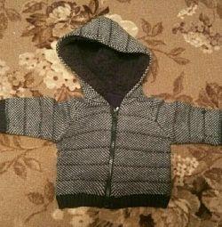 Jachetă caldă (62 cm, 4-6 luni)