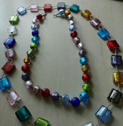 Margele de sticlă de Murano