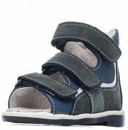 """Sandale pentru băieți """"Primul pas""""."""