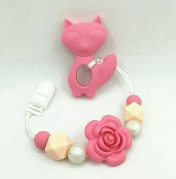 Soothers from food silicone