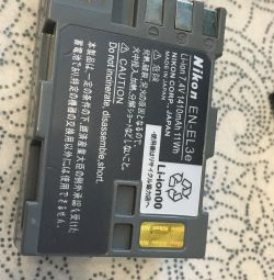 Аккумулятор enel-3e для Nikon