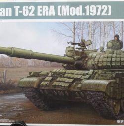 Т-62 советский средний танк,сборная модель