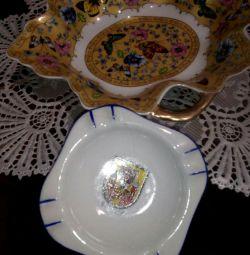 Ashtray, porcelain GDR