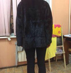 Palton de mină cu glugă