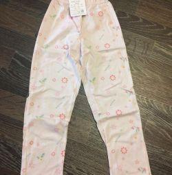 Yeni kız için pantolon
