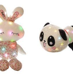 Soft toy — night light, musical