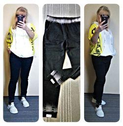 Стильные джинсы стрейч супер-стройность 54-56