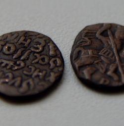 Медные монеты допетровских времен