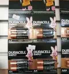 Duracell LR6 batteries 4 pcs. Kit