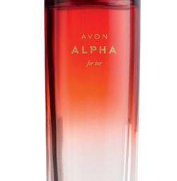 Perfumery water Alpha Avon