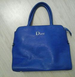 Women bag blue