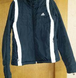 Куртка адідас розмір 40