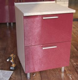 Cabinet table with drawers Shya-60 2b