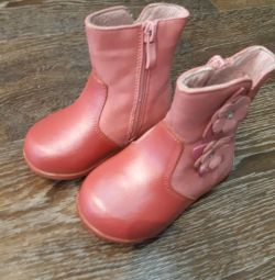 Boots size 21