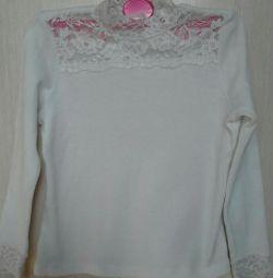 Σχολείο μπλούζας με φούστα 6-8 ετών