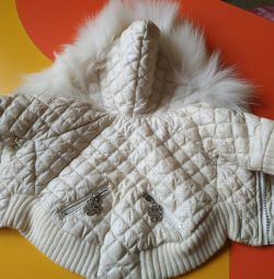 Beautiful warm jacket for your baby