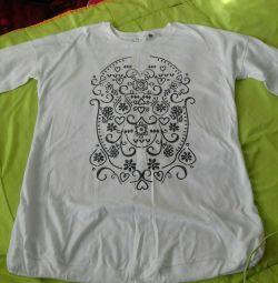 Bluză tunică pentru gravide