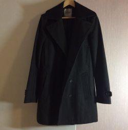 Woolen light overcoat 50-52 size