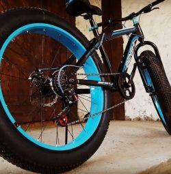 Fat bike fat tires