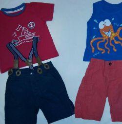Комплекти одягу на хлопчика 1-1,5 року