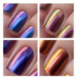 Varnish DanceLegend Series Chameleon and Galaxy