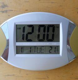 Wall clock electronic