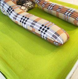 Подушка для беременных в наволошки штрих