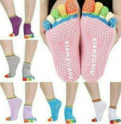 Κάλτσες ενηλίκων 5 δάχτυλα