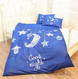 Lenjeria de pat 1,5 pat Noapte bună