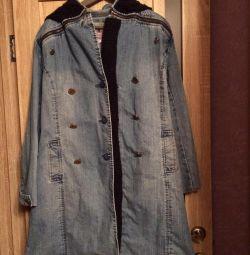 Coat jeans demi-season (Τουρκία)