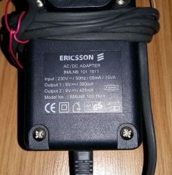 adapter power supply ERICSSON euro power cord