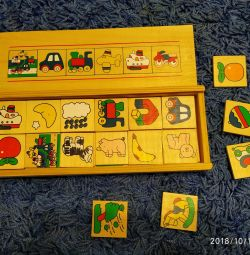 Wooden educational game