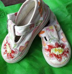 Pantofi branț de 14 cm