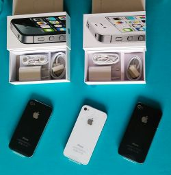Iphone 4s 16gb black white new