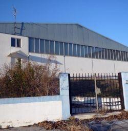 Промышленное здание площадью 2,161,20 кв.м, возведенное на