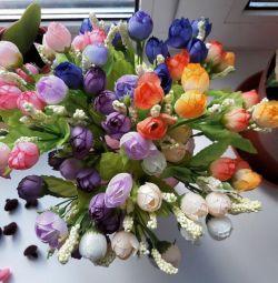 Flori artificiale. Trandafiri Bush