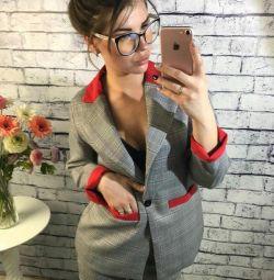 Костюм Брюки + Пиджак 42 размер