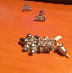 Γαρύφαλλα σκουλαρίκια