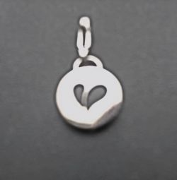 Keychain with a heart.