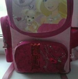 Backpack school Barbie