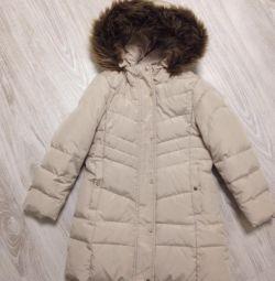 Winter coat down jacket Zara 116 cm