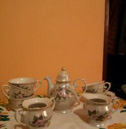 Tea-set.