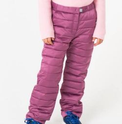 Штани утеплeнние дитячі, нові