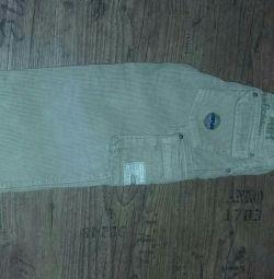 Corduroy pantaloni