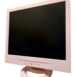 рожевий жк монітор 17