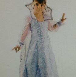 С Snow Queen costume carnival chic n