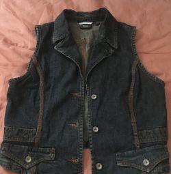 Jachetă denim. Femei. Brand MEXX.