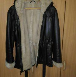 Yeni koyun derisi ceket R. 50