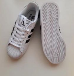 New ones. Adidas original, 38 size.
