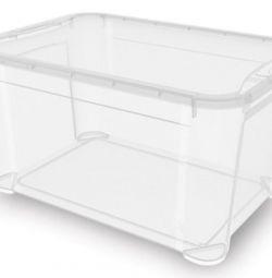 ящик белый удобные размеры 40х30х30